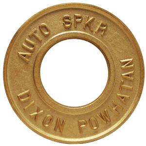 Dixon Powhatan 2 1/2 in. Pipe Round Identification Auto-Sprinkler Plate