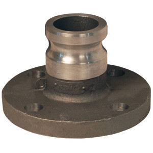 Dixon 1 in. Stainless Steel Adapter x 150# Flange Cam & Groove Fitting