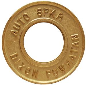 Dixon Powhatan 6 in. Pipe Round Identification Auto-Sprinkler Plate