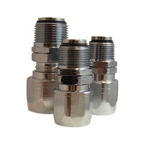 JME 1 in. Reusable Curb Pump Hose Couplings - Swivel Type