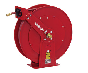 Reelcraft 1/2 in. x 75 ft. Series 80000 and D80000 Dual Pedestal Air Hose Reel - Reel & Hose