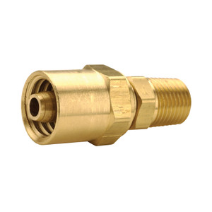 Dixon Reusable Fitting 3/8 in. ID x 5/8 in. OD Hose x 1/4 in. Male NPTF