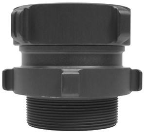 Dixon Powhatan 2 1/2 in. NST x 3 in. NPT Rocker Lug Aluminum Male Swivel Adapters