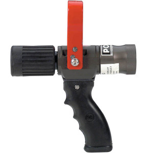 POK 1 in. NPSH Wildland Nozzle Hardcoat Anodized Aluminum & PTFE - Red