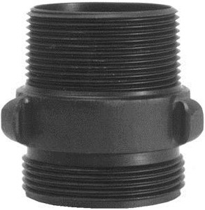 Dixon Powhatan 1.5 in. NPT x 1.5 in. NH(NST) Rocker Lug Aluminum Double Male Adapters