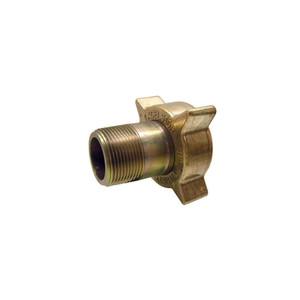Marshall Excelsior LP Gas 2 1/4 in. Female Acme x 1 1/4 in. MNPT Filler Coupling, Brass Nut