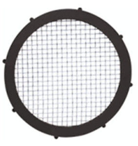 Rubber Fab 1 1/2 in. EPDM Screen Camlock Gaskets - 10 Mesh