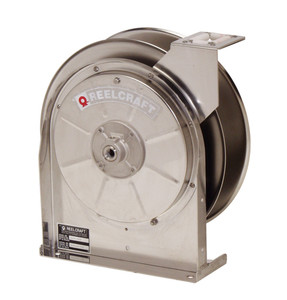 Reelcraft 3/8 in. x 35 ft. Stainless Steel Series Hose Reels - 500 PSI - Reel Only