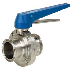 Sharpe Sanitary Butterfly Valves - Series 15 - 2 1/2 in. - EPDM