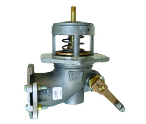 Morrison 603 Series 2 in. Flanged Manually Operated Emergency Valve w/ Buna-N Disc