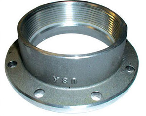 Betts 4 in. TTMA Flange x 4 in. Female NPT - Aluminum