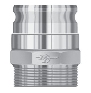 PT Coupling 2 in. FSV-Adapter 360° Swivel Male Adapter x Male NPT