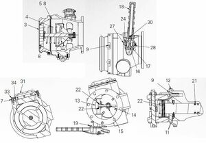 EBW API Bottom Loading Adapter Repair Parts - Pin, latch - 19