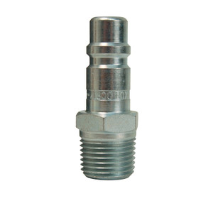 Dixon Air Chief Industrial Steel Male Threaded Plug 1/4 in. Male NPT x 1/4 in. Body
