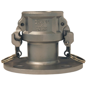 Dixon 1 in. Stainless Steel EZ Boss-Lock Coupler x 150# Flange Fitting