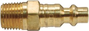 Dixon Air Chief Industrial Brass Male Threaded Plug 3/8 in. Male NPT x 1/4 in. Body