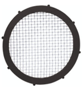 Rubber Fab 4  in. FKM Flouroelastomer Screen Camlock Gaskets - 30 Mesh