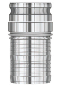 PT Coupling 3 in. ESV-Coupler 360° Swivel Male Adapter x Hose Shank