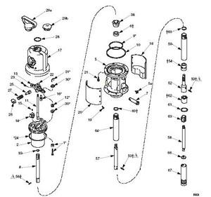 Non OEM Repair Kit for Graco Mini Fire-Ball 225 50:1 Pump - Ref: GR246919