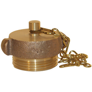 4 1/2 in. NH(NST) Dixon Brass Plug & Chain - Pin Lug
