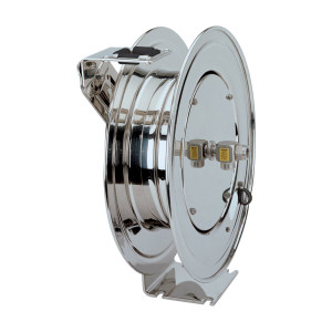 Coxreels P Series Stainless Steel Hose Reels - Reel Only - 1/2 in. x 25 ft.