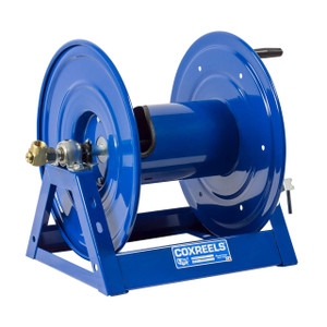 """Coxreels 1125-4-500 """"A"""" Frame Hand Crank Hose Reel - 1/2 in. x 500 ft."""