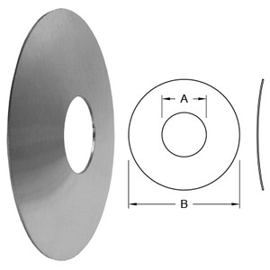 Dixon Sanitary Wall Flange - 1 in. - 1.00 in. - 3.00 in.