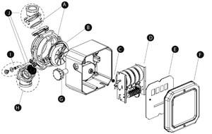 GPI 3/4 in. BSPP Fitting Kit for GPI MR 5-30 Meter - Kit# H