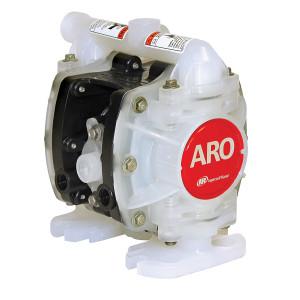 ARO 1/4 in. Polypropylene Non-Metallic Air Operated Diaphragm Pump w/ Santoprene Diaphragm