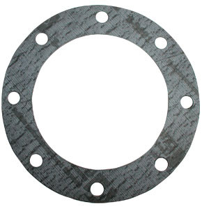 4 in. TTMA Teflon Envelope Gaskets - Fiber 1/8 in. Grey