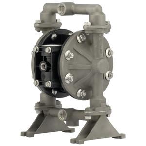 ARO Compact Series 1/2 in. Aluminum Air Operated Diaphragm Pump w/ Nitrile Diaphragm