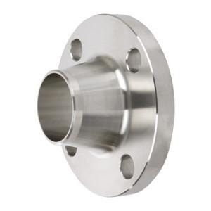 Smith Cooper 150# Schedule 40 304 Stainless Steel 1 in. Weld Neck Flange w/ 4 Holes