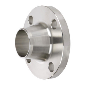 Smith Cooper 150# Schedule 40 304 Stainless Steel 1 1/2 in. Weld Neck Flange w/ 4 Holes