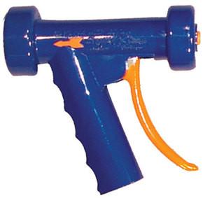 SuperKlean T150 Series Thermosmart Spray Nozzle with Temperature Gauge - Aluminum - Light Blue