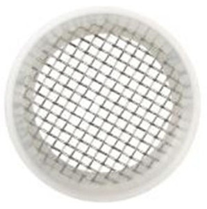 Rubber Fab 4 in. Platinum Silicon Screen Camlock Gaskets - 50 Mesh