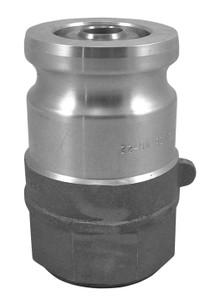 OPW 1 1/2 in. Stainless Steel Kamvalok Adapter w/ Teflon Seals