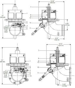880-430 & 880-431 Emergency Valve Parts - Cam - 10