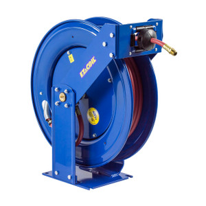Coxreels EZ-Coil T Series Supreme Duty Truck Mount Grease Hose Reels - Reel & Hose - 1/4 in. x 100 ft. - 5000