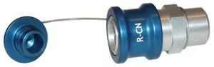 Dixon R-Series Teal Coolant Nozzle Plug - --- - R-Series Coolant Nozzle Plug - ---