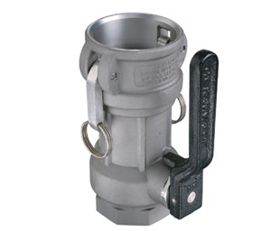 OPW 1 1/2 in. Stainless Steel Straight Coupler w/ EPT Seals