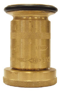 Dixon Powhatan 1 1/2 in. NH (NST) Brass Industrial Washdown Nozzles