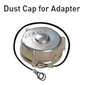 Emco Wheaton 2 in. Aluminum Dust Cap for Adapter
