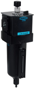 Dixon Wilkerson 1/2 in. L28 EconOmist Standard lubricator with Metal Bowl