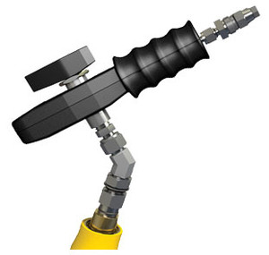 OPW CNG Type 2 Fueling System Nozzles - 4/4 Connection & 4 in. Rigid Extender - 1/4 in. - 1/4 in. - Up to 5,000 psi