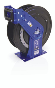 Graco XD 30 3/4 in. DEF Heavy Duty Spring Driven Hose Reels (Metallic Blue) - Reel Only