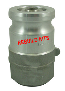 OPW 1 1/2 in. 1600 Series Adapter Rebuild Kit w/ Teflon/Viton Seals For 1677AN
