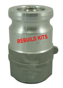 OPW 2 in. 1600 Series Adapter Rebuild Kit w/ Teflon/Viton Seals For 1677AN
