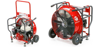 Tempest 27 in. Belt Drive Blowers with Honda GX Engines