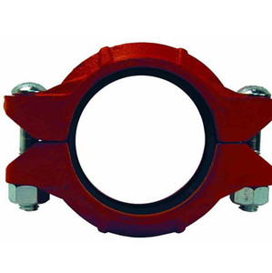 Dixon Series L Style 10 8 in. Lightweight Flexible Grooved Coupling w/ EPDM Gasket