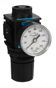 Dixon Wilkerson 1/2 in. Compact Regulators With Gauge - 97 SCFM